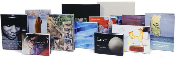Vi vill att du ska få inspiration av våra fotoböcker