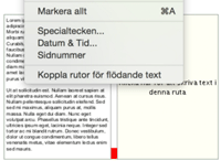 Flow text 1